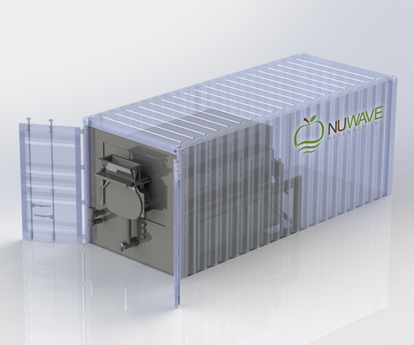 NuWave Research | Vacuum Microwave Drying